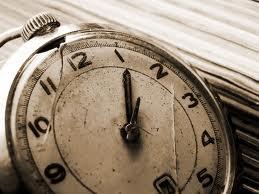 Broken clock is not a valid excuse.