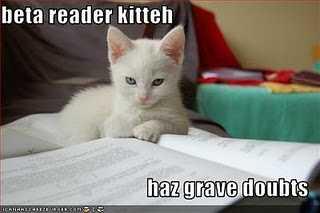 No, beta-reader kitteh! Be nice!