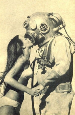 Maybe he gave her that helmet as a keepsake.