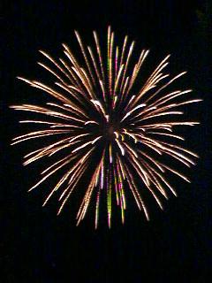 I do like fireworks, though.
